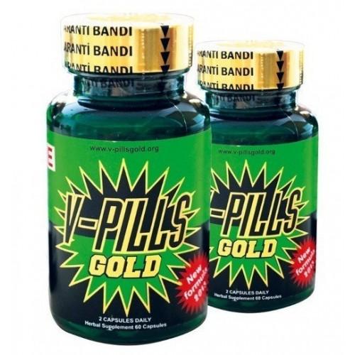 (0184)V-PILLS GOLD IKILI