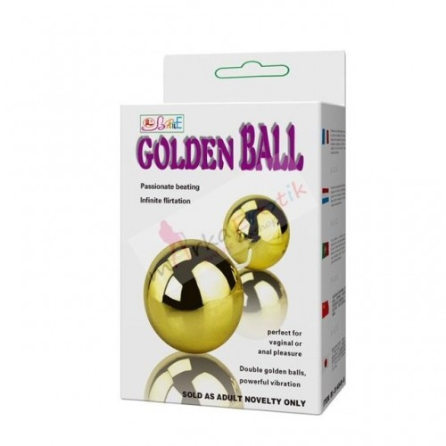 (0548)GOLDEN ANAL TİTREŞİMLİ TOPLAR